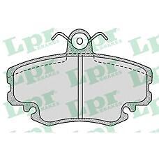 LPR 05p1107 (6001547911 / 571526) колодки торм. дисковые
