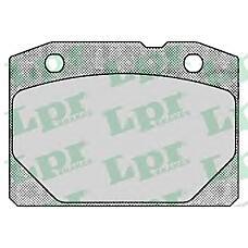 LPR 05P127 (21013501090 / 21013501089 / 210135011090) колодки тормозные передние ваз 2101-07