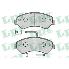 LPR 05P1288 (77364318 / 77364015 / 77364319) колодки тормозные перед. psa Jumper (Джампер) Boxer (Боксер) Ducato (Дукато) 2,2-3,0l 06->