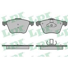 LPR 05P1507 (1431178 / 1405511 / 30736322) колодки тормозные передние Ford (Форд) s-max Volvo (Вольво) s60 s80 v70 xc70 06-