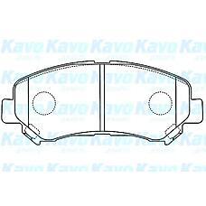 KAVO BP-6600 (D1060JD00A / D1060JE00A / D1060JD00J) колодки тормозные передние Nissan (Ниссан) qashqai / x-trail 07-