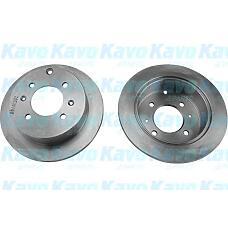 KAVO BR-3227 (5841138310) диск тормозной зад. Hyundai (Хендай) matrix(fc) / Sonata (Соната) III / IV / / Magentis (Маджентис) 1,5-2,7l 98-> (263x10mm)