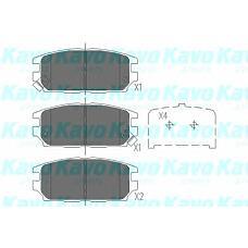 KAVO KBP-5511 (MB928067 / MR389582 / MB857610) колодки тормозные Mitsubishi (Мицубиси) galant 92-96 / Lancer (Лансер) 94-03 / Space wagon (Спейс вагон) 98- задние