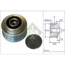 INA 535 0097 10 (720110800 / 373224X250) шкив генератора\ kia