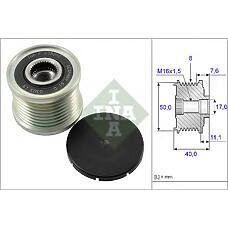 INA 535 0119 10 (6291500160 / 535011910) шкив генератора\ mb w211 / w164 / w221 4.0cdi 06>