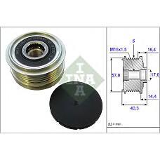 INA 535018710 (373222A000 / 373222A110 / 373222A100) шкив генератора