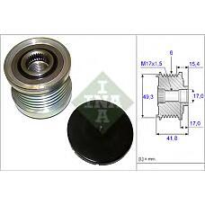 INA 535019310  шкив генератора