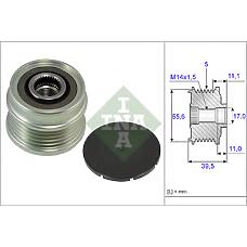 INA 535021810  шкив генератора