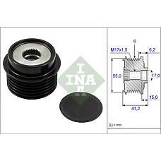 INA 535023110 (274150T020 / 274150T021 / 274150T022) шкив генератора