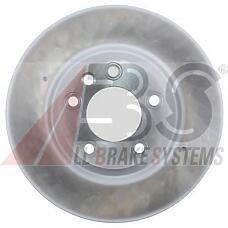 ABS 17504 (7L6615302E / 95535140250 / 7L8615302) диск тормозной передний правый / aq7 08~, VW Touareg (Туарег) 03~