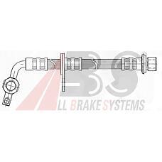 ABS SL5311 (9094702A21 / 9094702F28 / 9094702A219094702F28) шланг тормозной Toyota (Тойота) Land Cruiser (Ленд Крузер) (j100) 98- m10x1-banjo 415mm