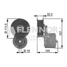 FLENNOR FA99054 (ERR3562 / ERR6439) ролик прив.ремня land rover