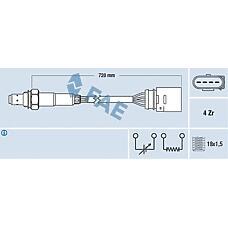 FAE 77139 (06A906265F / 06A906265P / 06A906265H) лямбда-зонд