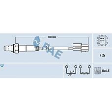 FAE 77290 (MD351752 / 30873634 / MD340904) лямбда-зонд