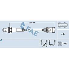 FAE 77369 (16288C / 9623000480 / 00001628QY) лямбда-зонд\ Citroen (Ситроен) Xsara (Ксара) 1.8 97-00,Peugeot (Пежо) 406 2.0 95-04
