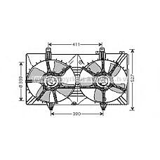 AVA QUALITY COOLING dn7518 (21481CA000) электро вентилятор кондиционера