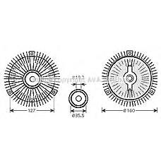 AVA MSC408 (6032000022 / 6062000022 / 6032000422) муфта гидравлическая