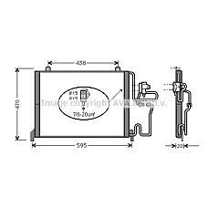 AVA QUALITY COOLING RT5144 (7701204955 / 7701205214 / 7701035441) радиатор кондиционера
