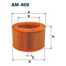 FILTRON AM 469 (1378083000 / 1378083000000 / 310) фильтр воздушный\ Suzuki (Сузуки) sj 413 / samurai 1.3i 84-90