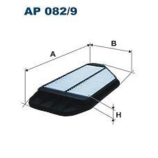FILTRON AP 082/9 (96827723) фильтр воздушный\ Chevrolet (Шевроле) spark 1.0 / 1.2 10>