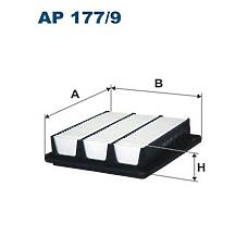 FILTRON AP 177/9 (281133K200) фильтр воздушный\ Hyundai (Хендай) grandeur 3.3 05>