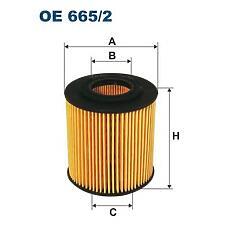 FILTRON oe665/2 (LF0114302 / 1152049 / L32114302) фильтр масл. (вставка эко без метал.эл.)
