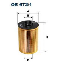 FILTRON OE 672/1 (11427511161 / 11427506677) фильтр масляный\ BMW (БМВ) e60 / e61 / e63 / e64 / e65 / x5 3.5-4.8 01>