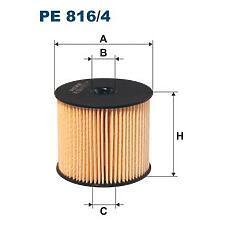 FILTRON PE 816/4 (9401906768 / 190676 / 190677) фильтрующий элемент топлива\Peugeot (Пежо) 307 / 406, Citroen (Ситроен) xsantia 2.0hdi 00>