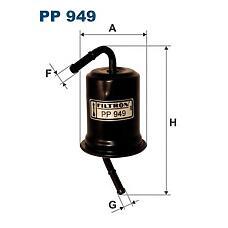 FILTRON PP 949 (KB35920490 / KB35920490A / E9BZ9155A) фильтр топливный\ Kia (Киа) pride 1.3i 90>