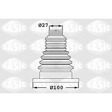 SASIC 1906033 (1K0498201) пыльник шруса (установ. комплект) vag