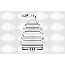 SASIC 1906050 (1603277) пыльник шрус, комплект