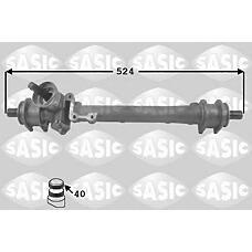 SASIC 9006002 (191419063B) рейка рулевая без г / у z=40 vag VW Golf (Гольф) 2 84-89