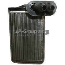 JP GROUP 1126300100 (1J1819031A / 1J1819031B / 1J1819031) радиатор печки\ Audi (Ауди) a3, VW Golf (Гольф) / Bora (Бора) all 97>