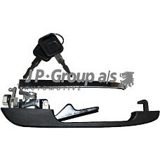 JP GROUP 1187101670 (443837205C / 443837205B / 15468) ручка окрывания передней двери в сборе с личинкой и ключом левая / Audi (Ауди) 100,200 83-88