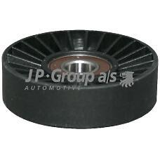 JP GROUP 1218200600 (1340530 / 4575478 / 1340545) ролик натяжной\ Opel (Опель) Astra (Астра) / vectra / Zafira (Зафира) 2.0 / 2.2di / dti 98>