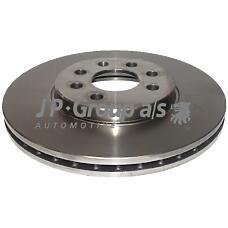 JP GROUP 1263100600 (569006 / 93175376 / 0569006) диск тормозной