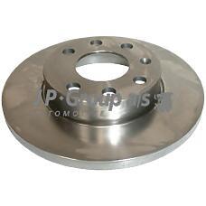 JP GROUP 1263100700 (569020 / 9195981 / 0569020) диск тормозной передний без abs\ Opel (Опель) Corsa (Корса) 1.0 / 1.2 00-07