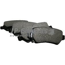 JP GROUP 1263700110 (1605967 / 1605995 / 93179164) колодки дисковые задние\ Opel (Опель) Astra (Астра) g 1.8-2.2dt 01-04 / Zafira (Зафира) 2.2i / dti 01>