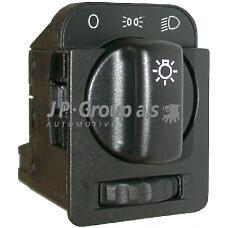 JP GROUP 1296100100 (1240126 / 90213283 / 1240126_JP) переключатель света фар с реостатом подсветки приборов / opel