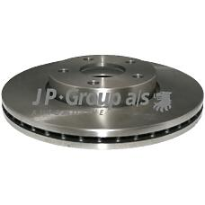 JP GROUP BS9305ALT  Тормозной диск перед. вент. 278мм. FORD Focus II 1.4/1.6