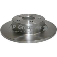 JP GROUP 1563200500 (4457989 / 4367107 / 4475316) диск тормозной