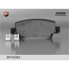 FENOX BP43083 (0446602070 / 0446602020 / 0446602160) колодки дисковые задние диск 15\ Toyota (Тойота) Corolla (Корола) 1.4i / 1.6 / 2.0d 01> / verso 1.8wti / 2.0d 02>