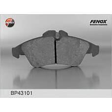 FENOX BP43101 (0024209920 / 2D0698151 / 0024203920) bp43101  колодка дисковая передняя mb Sprinter (Спринтер) 2t / 3t / 4t 95-06, mb v-class 97-03, Vito (Вито) 96-03,VW lt i