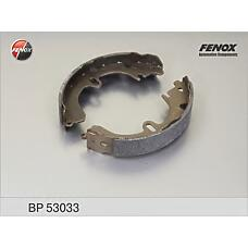 FENOX BP53033 (0449512210 / 0449520150 / 0449520101) колодки тормозные барабанные Toyota (Тойота) Corolla (Корола) e11, Carina (Карина) e, Camry (Камри) (sumitomo system)