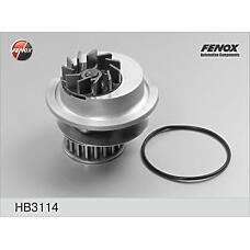 FENOX HB3114 (1334024 / 1334011 / 90234200) насос водяной Opel (Опель) kadett, vectra, ascona, Corsa (Корса) 1.4i-1.6i / gsi