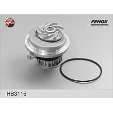 FENOX HB3115 (90220568 / 1334008 / 90272361) помпа 21z\ Opel (Опель) ascona / Astra (Астра) / kadett / calibra / Omega (Омега) / vectra, Daewoo (Дэу) Espero (Эсперо) 1.6-2.0 / I 81-99