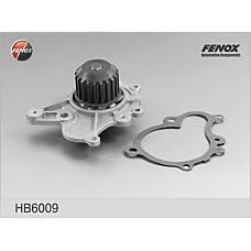 FENOX HB6009 (2510027000 / 2510027400 / 2510027900) насос водяной Hyundai (Хендай) accent, elantra, tucson, santafe, i30, Sonata (Соната) 1.5crdi / 2.0crdi 01>, trajet, tucson 2.7, 2.0crdi 01-10; Kia (Киа) carens, cerato, magentis, spectra 2.0crdi 02>, Sp