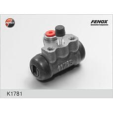 FENOX K1781 (MB618188 / 4757087609 / 4757087609000) цилиндр тормозной колесный Mitsubishi (Мицубиси) Colt (Кольт) 92-00, galant 87-92, lancer