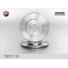 FENOX TB217113 (34111160915 / 34111154749 / 34111154750) диск тормозной передний\ BMW (БМВ) e30 / z1 1.6-2.4d m10-m42 82-94