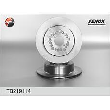 FENOX TB219114 (4243130140 / 4243130190 / 4243130240) диск тормозной 307*16*5; задний Lexus (Лексус) gs 300,sc 300,sc 400, ls 400 93-97